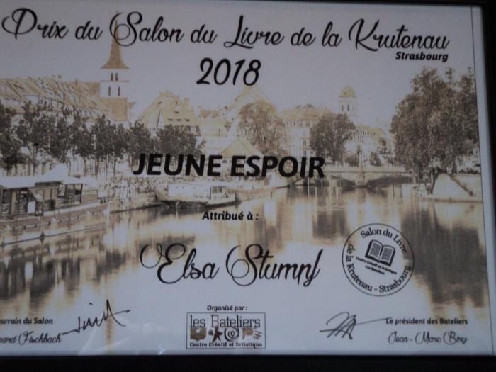 Prix Jeune Espoir Krutenau 2018